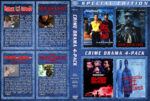 Crime Drama 4-Pack (1991-1993) R1 Custom Cover
