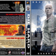 Die Hard Quadrilogy (1988-2007) R1 Custom Covers