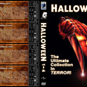 Halloween 1-4 (1978-1988) R1 Custom Cover