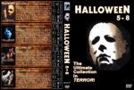 Halloween 5-8 (1989-2002) R1 Custom Cover