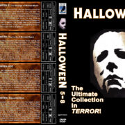 Halloween 5-8 (1989-2002) R1 Custom Cover