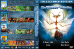 A Bug's Life / Antz / Ant Bully / Bee Movie Quad (1998-2007) R1 Custom Covers