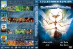 A Bug's Life / Antz / Ant Bully / Bee Movie Quad (1998-2007) R1 Custom Covers