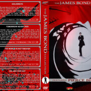 The James Bond Collection: Pierce Brosnan (1995-2002) R1 Custom Cover