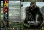 King Kong Collection (4) (1933-2005) R1 Custom Cover