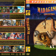 Madagascar Collection (4) (2005-2012) R1 Custom Cover