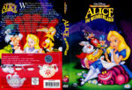 Alice im Wunderland (1951) R2 German Cover