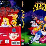 Alice im Wunderland (1951) R2 German Cover