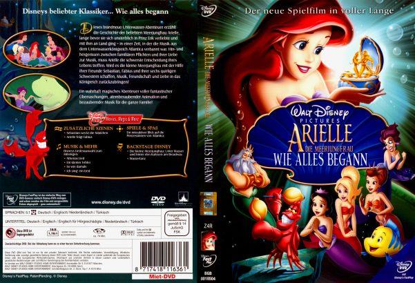 Arielle, die Meerjungfrau - Wie alles begann (2008) R2 German Cover