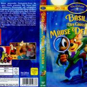 Basil, der große Mäusedetektiv (1986) R2 German Cover
