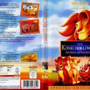 Der König der Löwen 2: Simbas Königreich (1998) R2 German Cover
