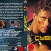 Cyborg (1989) R2 German Custom Blu-Ray Cover & label