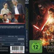 Star Wars - Das Erwachen der Macht (VV - Version) R2 German Blu-Ray Cover & label