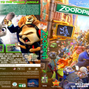 Zootopia (2016) R1 Custom DVD Cover