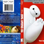 Big Hero 6 Collector's Edition (2014) R1 Blu-Ray Cover