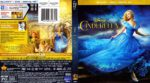 Cinderella (2015) R1 Blu-Ray Cover