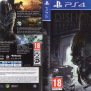 Dishonored Definitive Edition (2013) PS4 USA Cover