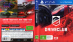 Driveclub (2014) PS4 USA Cover