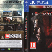 Metal Gear Solid V The Phantom Pain (2015) PS4 USA Cover