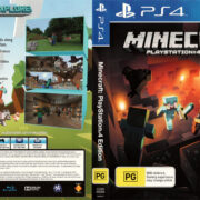 Minecraft (2014) PS4 USA Cover