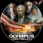 Olympus has Fallen (2013) R2 German Custom disc Label