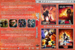 Spy Kids Quadrilogy (2001-2011) R1 Custom Cover