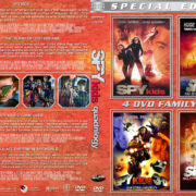 Spy Kids Quadrilogy (2001-2011) R1 Custom Cover