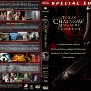The Texas Chainsaw Massacre Collection (4) (2003-2013) R1 Custom Cover