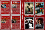 Thriller / Drama 4-Pack (2004-2007) R1 Custom Cover