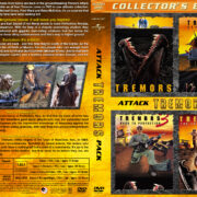Tremors Attack Pack (4) (1990-2004) R1 Custom Covers
