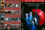 Universal Soldier Quadrilogy (1992-2012) R1 Custom cover