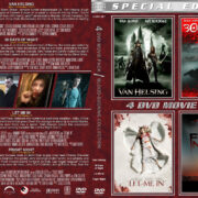 Blood-Sucking Collection 4-DVD Movie Pack (2004-2011) R1 Custom Cover