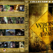 Wrong Turn 4-Pack (2003-2011) R1 Custom Cover