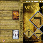 Wrong Turn 1-4 (2003-2011) R1 Custom Cover
