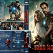 Iron Man 3 (2013) R2 German Custom Cover