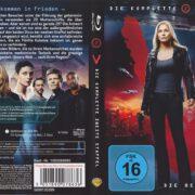 V – Die Besucher – Die komplette zweite Staffel (2010) R2 German Blu-Ray Cover & labels
