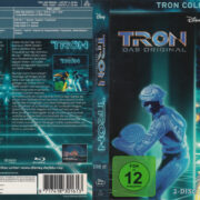 Tron / Tron Legacy 2 Disc Edition (2011) R2 German Blu-Ray Cover & labels