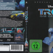 Tron: Das Original (1982) R2 German Blu-Ray Cover & label