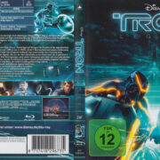 Tron: Legacy (2010) R2 German Blu-Ray Cover & label