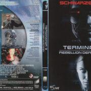 Terminator 3: Rebellion der Maschinen (2003) R2 German Blu-Ray Cover & label