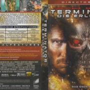 Terminator: Die Erlösung (2009) (Director's Cut) R2 German Blu-Ray Cover & label