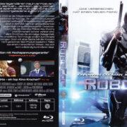RoboCop (2014) R2 German Blu-Ray Cover & label