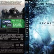 Prometheus - Dunkle Zeichen (2012) R2 German Blu-Ray Cover & label