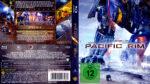 Pacific Rim (2013) R2 German Blu-Ray Cover & label
