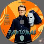 Fantomas (1964) R2 German Custom Label