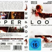 Looper (2013) R2 German Blu-Ray Cover & label