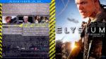 Elysium (2013) R2 German Blu-Ray Cover & label