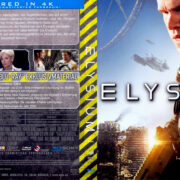 Elysium (2013) R2 German Blu-Ray Cover & label