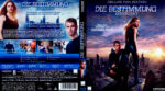 Die Bestimmung – Divergent (2014) R2 German Blu-Ray Cover & label