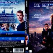 Die Bestimmung - Divergent (2014) R2 German Blu-Ray Cover & label